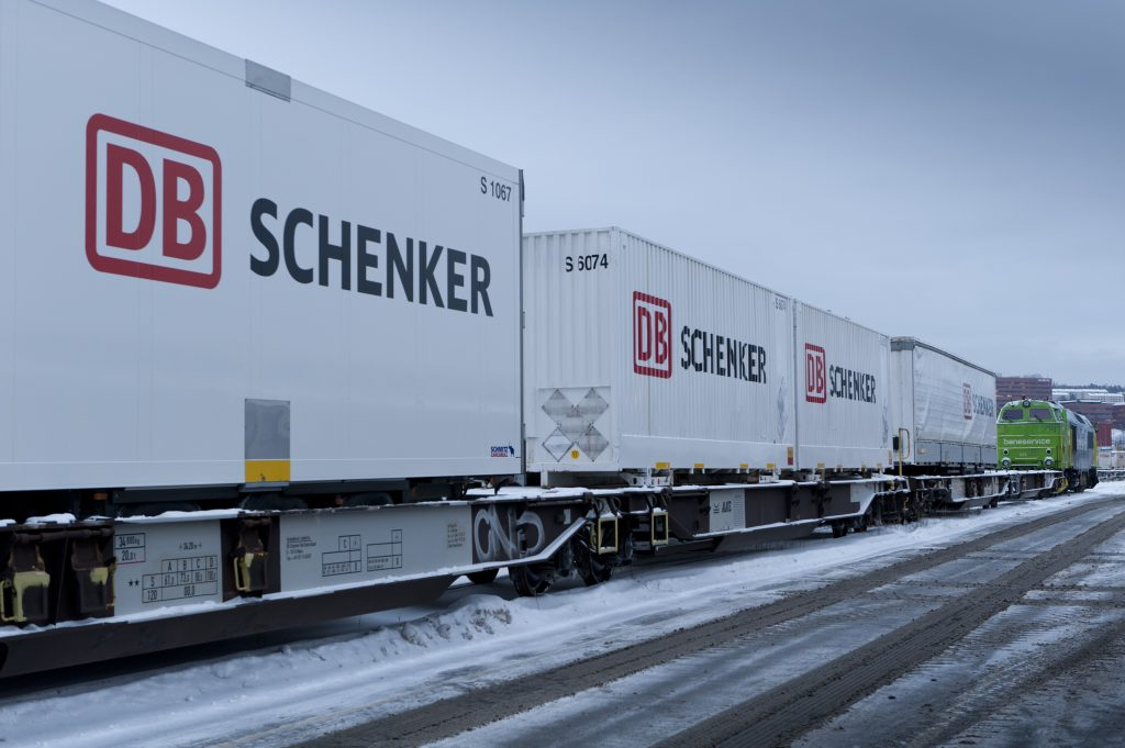 Cold chain freight wagons in Norway
