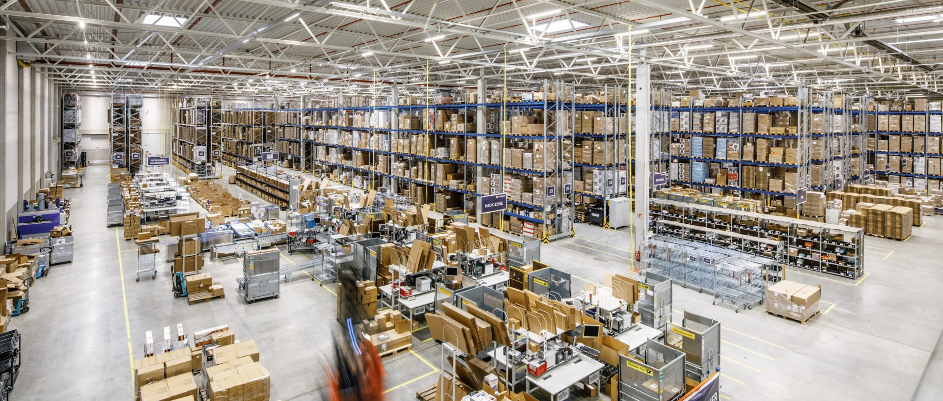 E-commerce warehouse in Augsburg, Germany
