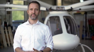 Florian Reuter, CEO Volocopter
