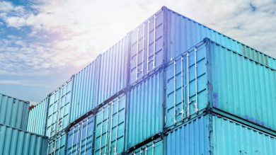 Containers in Ocean Freight